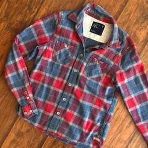 American eagle flannel size 2